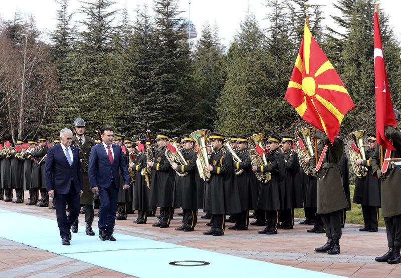 Binali Yildirim, Zoran Zaev