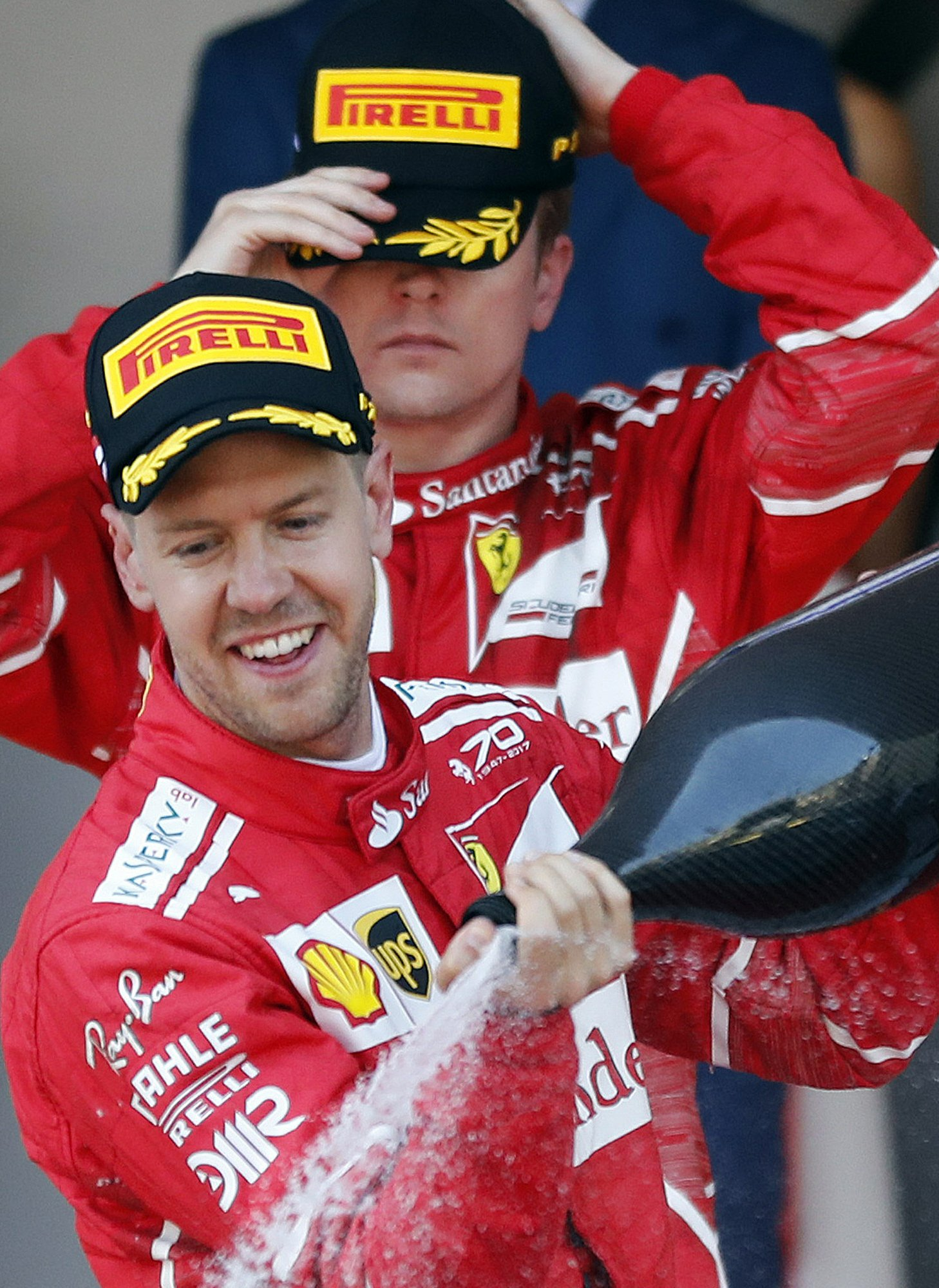 b74c92e0c0 Not all smiles at Ferrari as Raikkonen unhappy with team