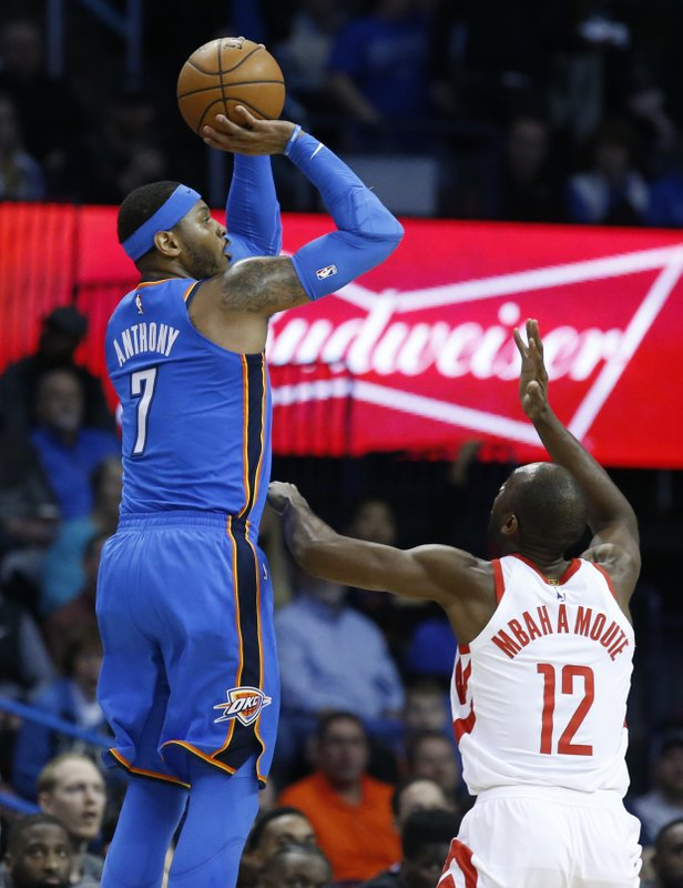 Carmelo Anthony, Luc Mbah A Moute
