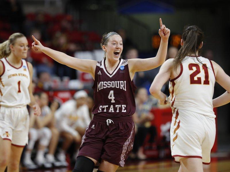 f87c502330fc Missouri State women crash Sweet 16 as No. 11 seed
