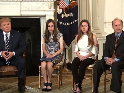 Students Get Emotional in Talks With Trump
