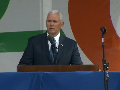 Pence: 'Life is Winning Again'