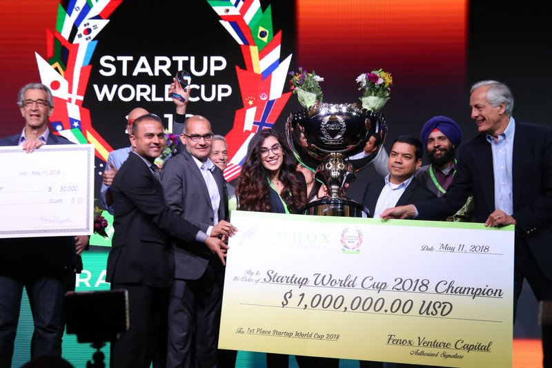 Fenox VC Announces Winner of Startup World Cup $1,000,000 Investment Prize