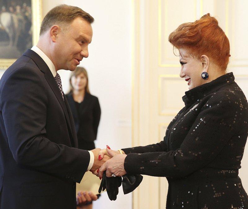 Georgette Mosbacher, Andrzej Duda