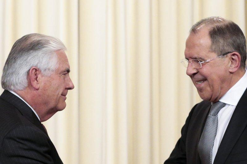 Sergey Lavrov, Rex Tillerson