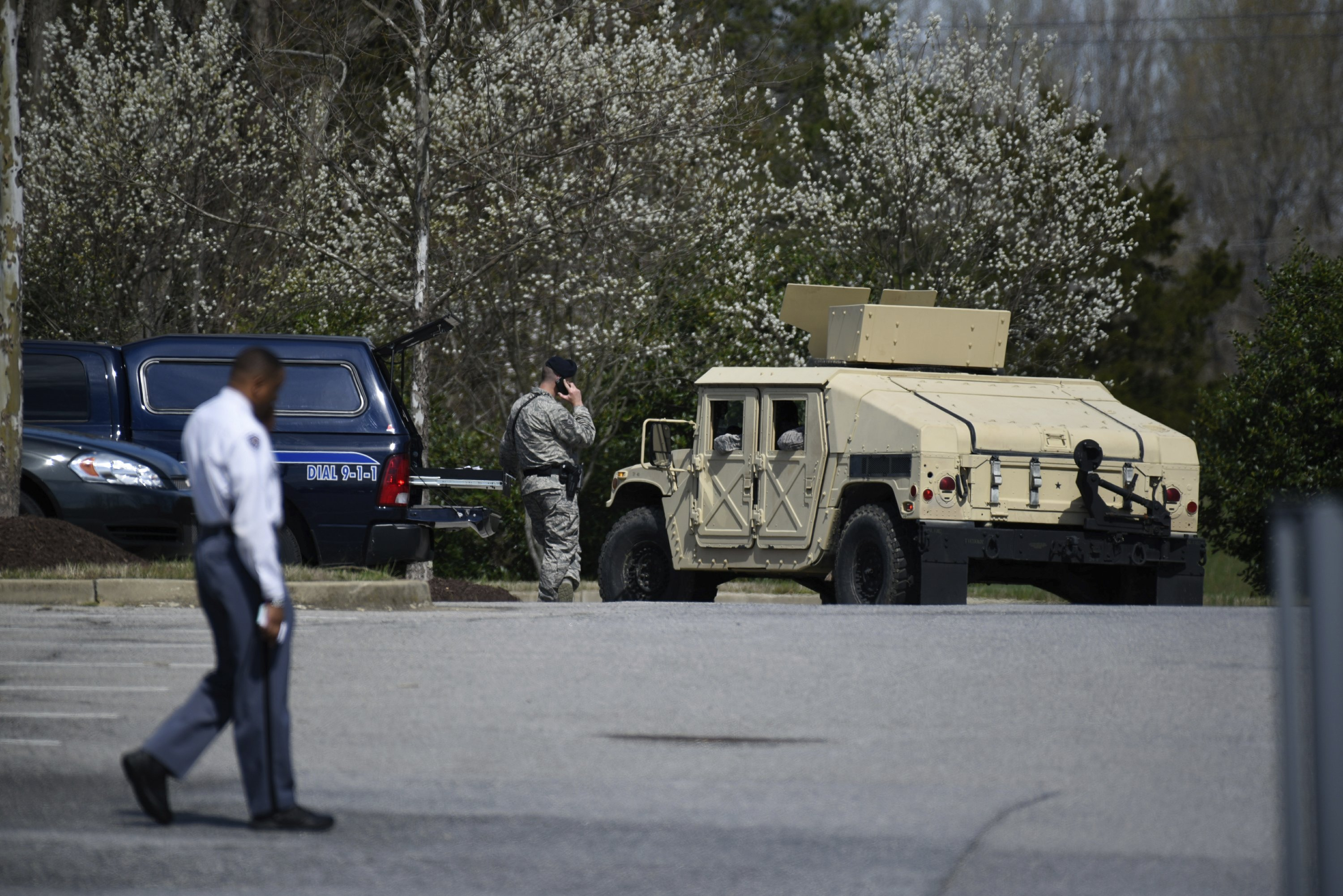 The Latest: Military: Pilot of crashed F-16 out of hospital