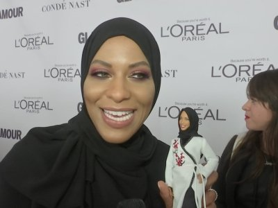 Ibtihaj Muhammad says her hijab-wearing Barbie is 'revolutionary'
