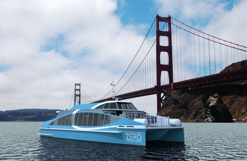Bay Ship and Yacht Wins Contract to Build First Hydrogen Fuel Cell Passenger Vessel
