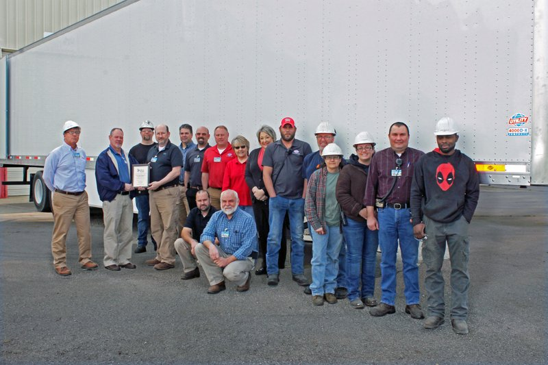 Utility's Paragould, Arkansas Plant Awarded Silver Safety Award by Liberty Mutual Insurance