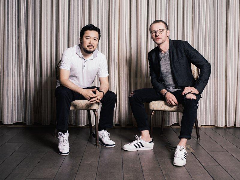 Justin Lin Simon Pegg