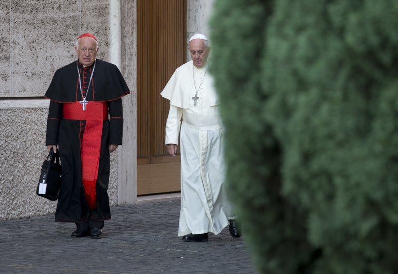 Pope Francis, Ricardo Ezzati