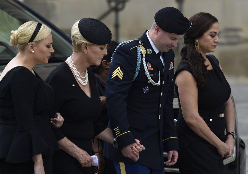 John McCain, Cindy McCain, James McCain, Meghan McCain