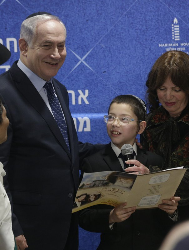 Benjamin Netanyahu, Moshe Holtzberg