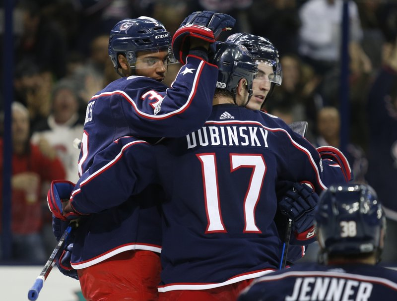 Seth Jones, Brandon Dubinsky, Zach Werenski