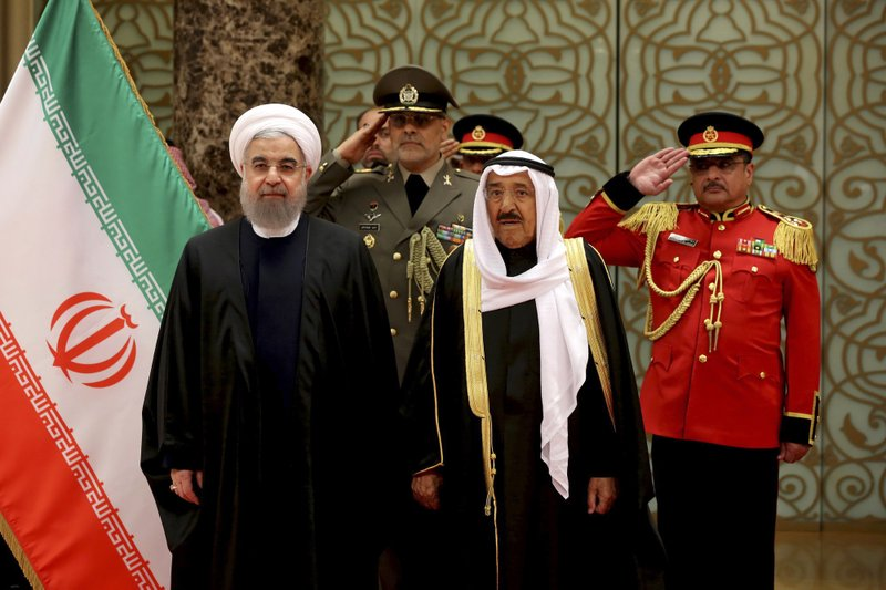 Hassan Rouhan, Sabah Al Ahmed Al Sabah,