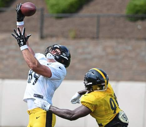Tim Benz: Steelers' vow to use tight ends more becoming harder to envision