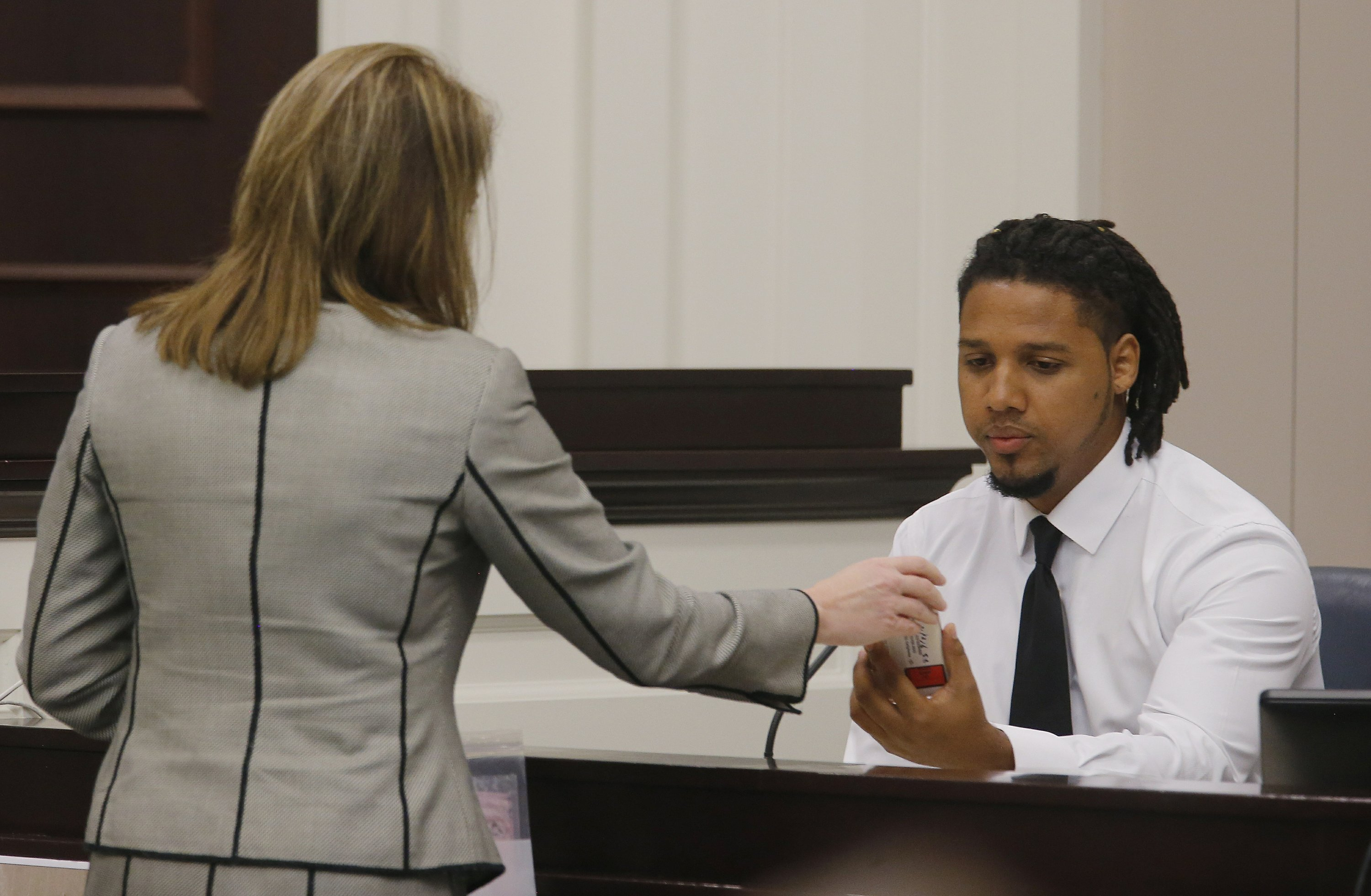 Jurors review video of officer killing unarmed fleeing man