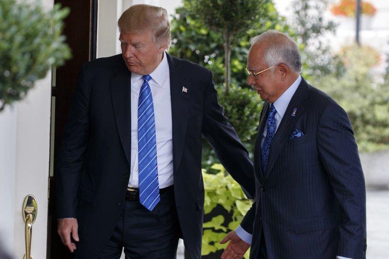 Donald Trump, Najib Razak