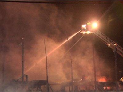 Pennsylvania Fire Destroys 25 School Buses