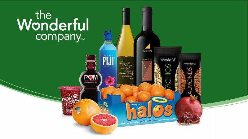 The Wonderful Company Emerges as Fastest Growing CPG Company