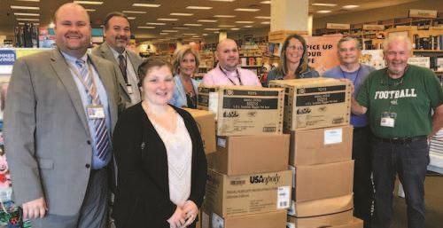 Books-A-Million donates 659 books to Cabell County Schools