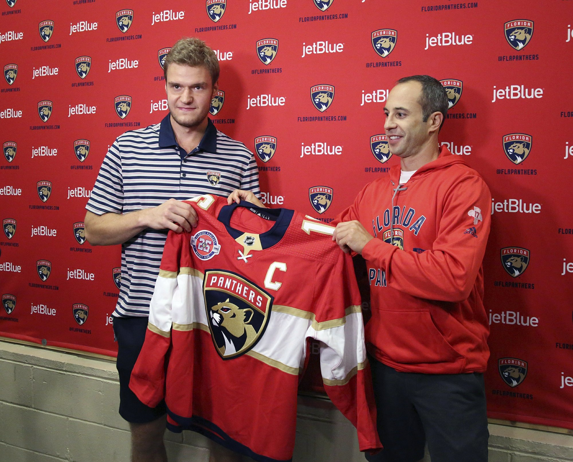 official photos d4225 040dd Barkov takes over as captain of Florida Panthers