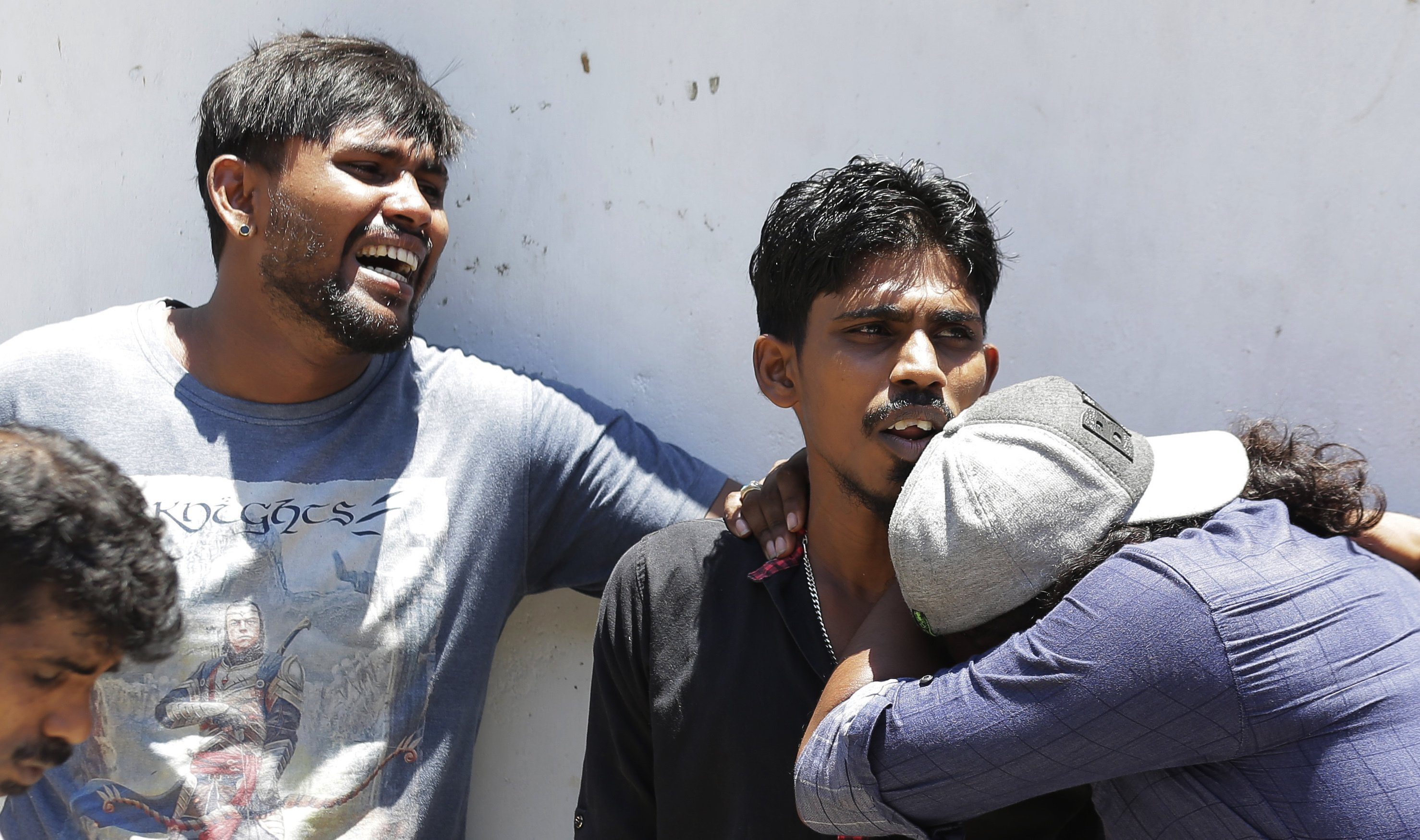 The Latest: Turkey's president condemns Sri Lanka blasts