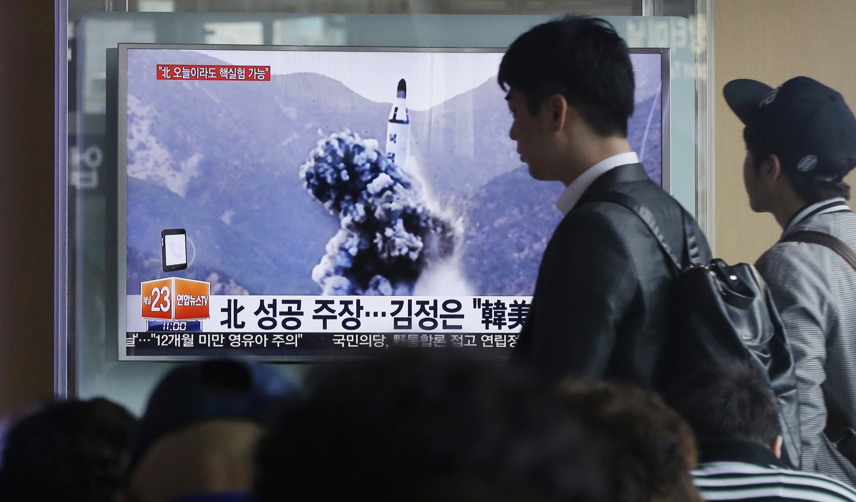 US, North Korea trade warnings over potential ICBM test