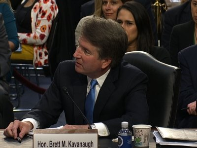 Kavanaugh asked about law firm conversations
