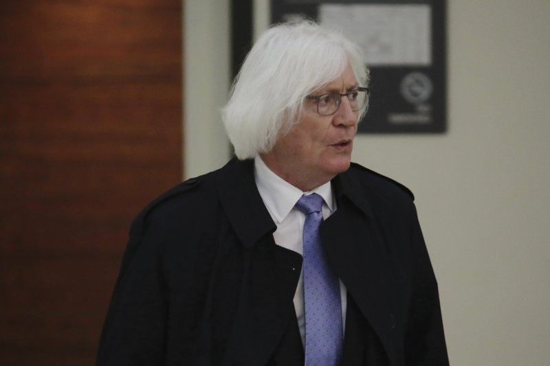 Tom Mesereau, lawyer for actor and comedian Bill Cosby, arrives for the sixth day of his sexual assault retrial at the Montgomery County Courthouse in Norristown, Pennsylvania