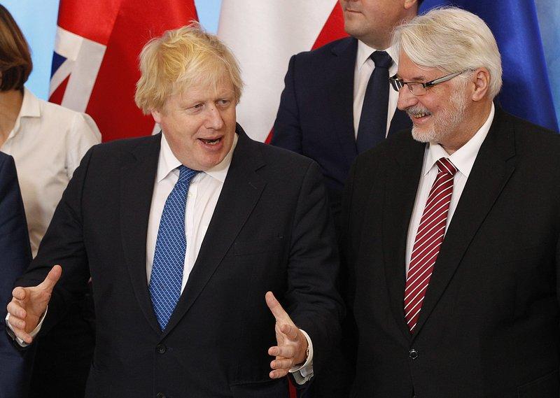 Boris Johnson, Witold Waszczykowski