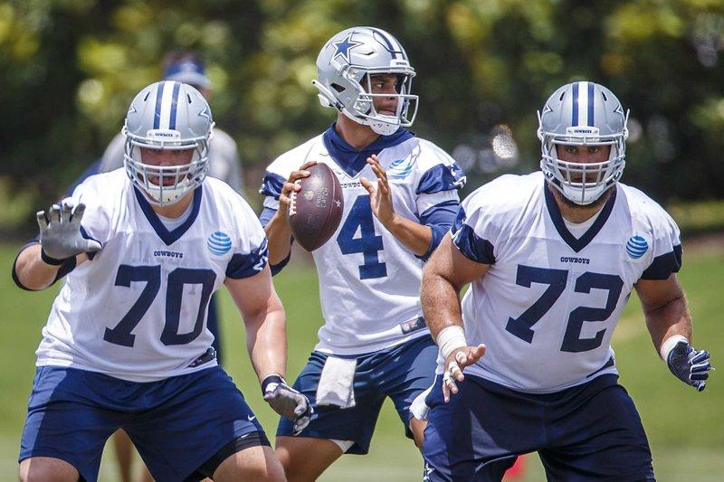 newest db295 36a74 AP source: Cowboys make Zack Martin NFL's highest-paid guard