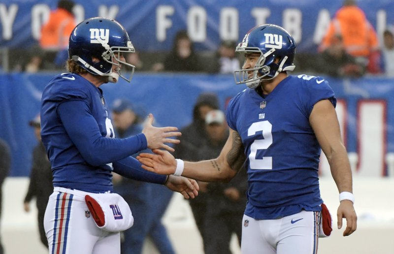 Giants PK Rosas goes from roster long shot to Pro Bowl pick