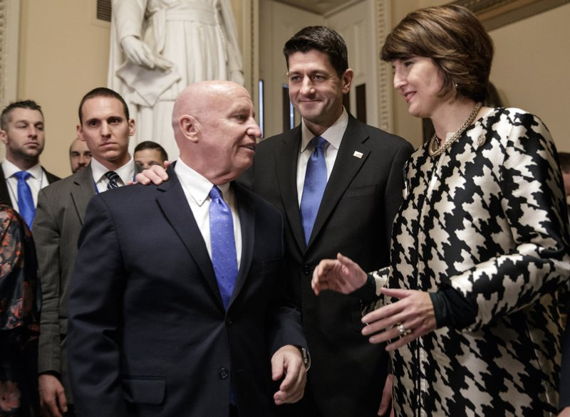 Paul Ryan, Kevin Brady, Cathy McMorris Rodgers