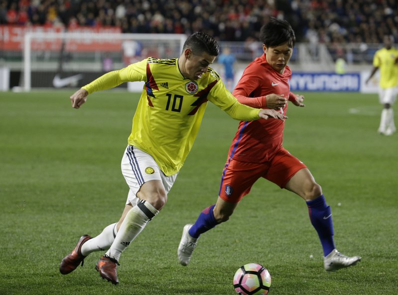 James Rodriguez, Kim Jin-su