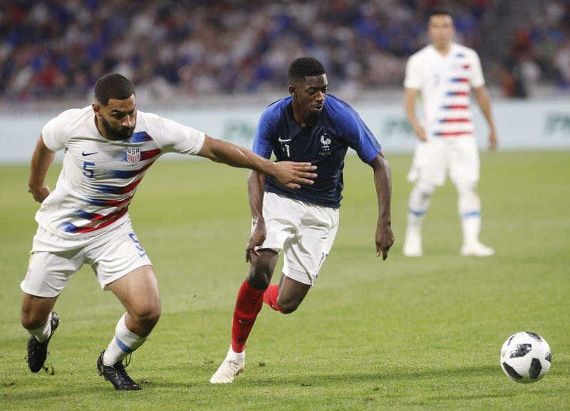 Ousmane Dembele, Cameron Carter-Vickers