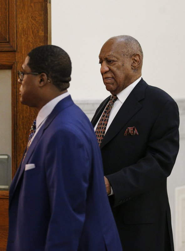 Actor and comedian Bill Cosby arrives for jury selection for his sexual assault trial at the Montgomery County Courthouse in Norristown, Pennsylvania