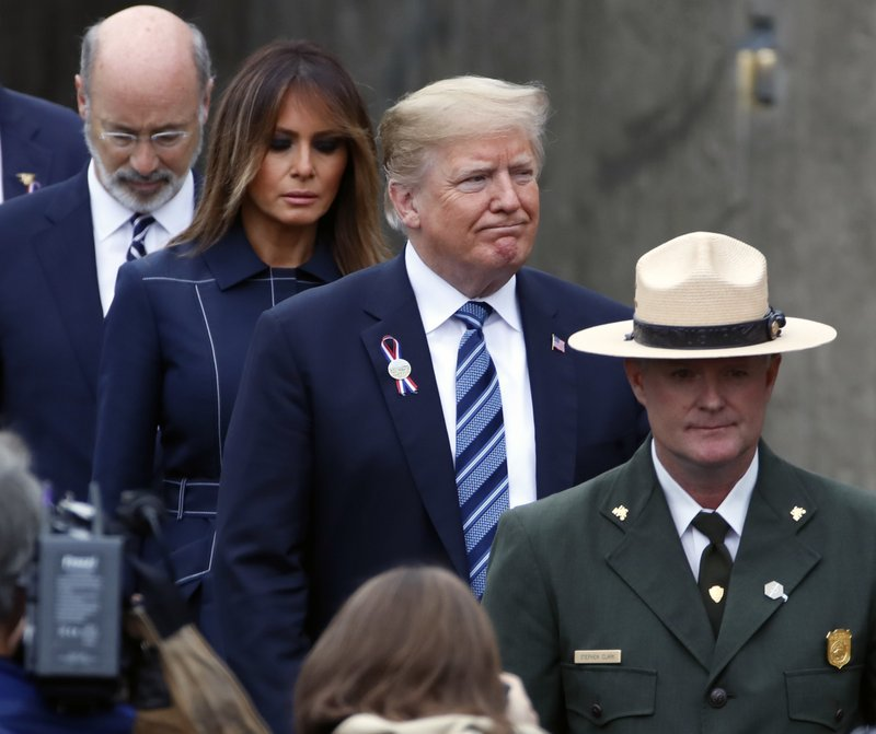 Donald Trump, Melania Trump, Tom Wolf