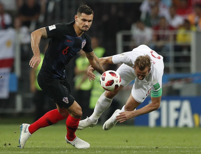 58bc34e79 The Latest  Croatia defender demands respect at World Cup