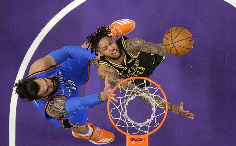 Brandon Ingram, Steven Adams