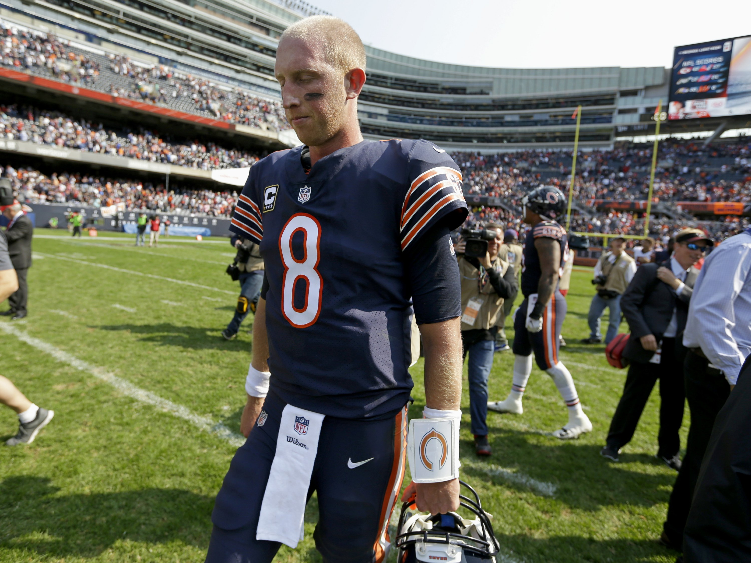 lowest price eb30e 60574 A Tampa homecoming for Bears quarterback Mike Glennon
