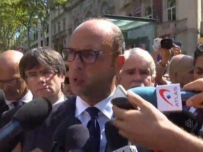 Italian FM Lays Wreath at Spain Attack Site