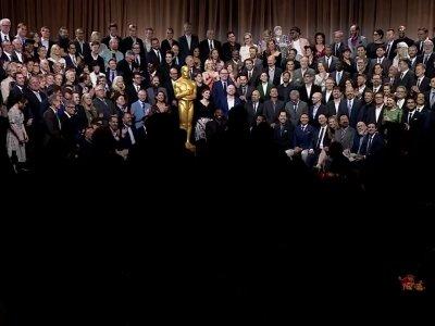 Oscar nominees strike a pose