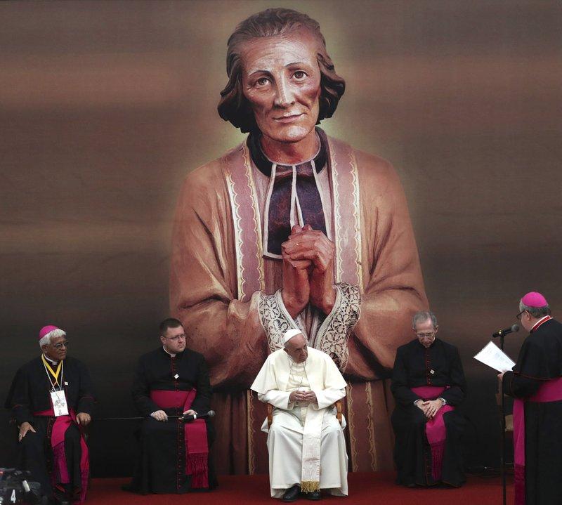 Jose Antonio Eguren, Pope Francis, Hector Miguel Cabrejos, Guido Marini