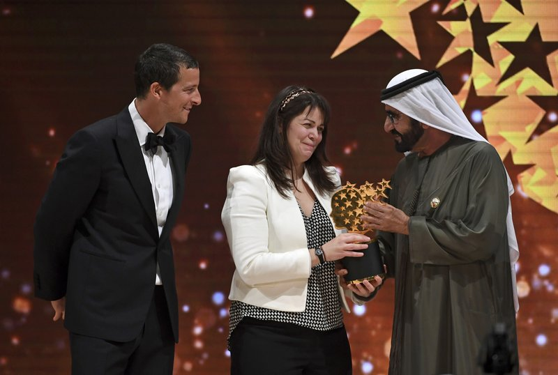 Maggie MacDonnell, Mohammed bin Rashid Al Maktoum