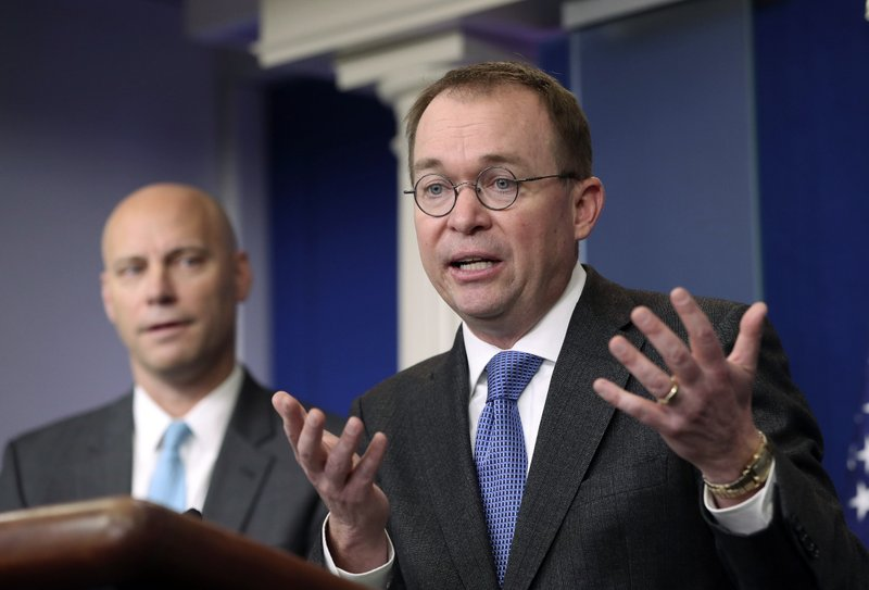 Mick Mulvaney, Marc Short,