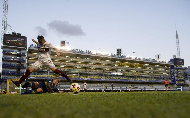 Boca beats Lanus in landmark Argentine women's soccer match