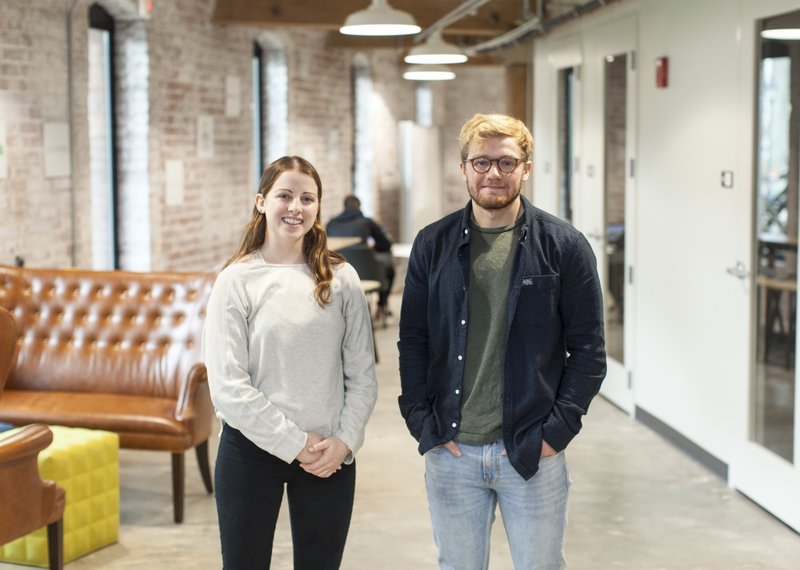 7 2019 Photo Shows Allison Garrett And Andy Page The Founders Of Radify Labs In Richmond Va Was Founded By