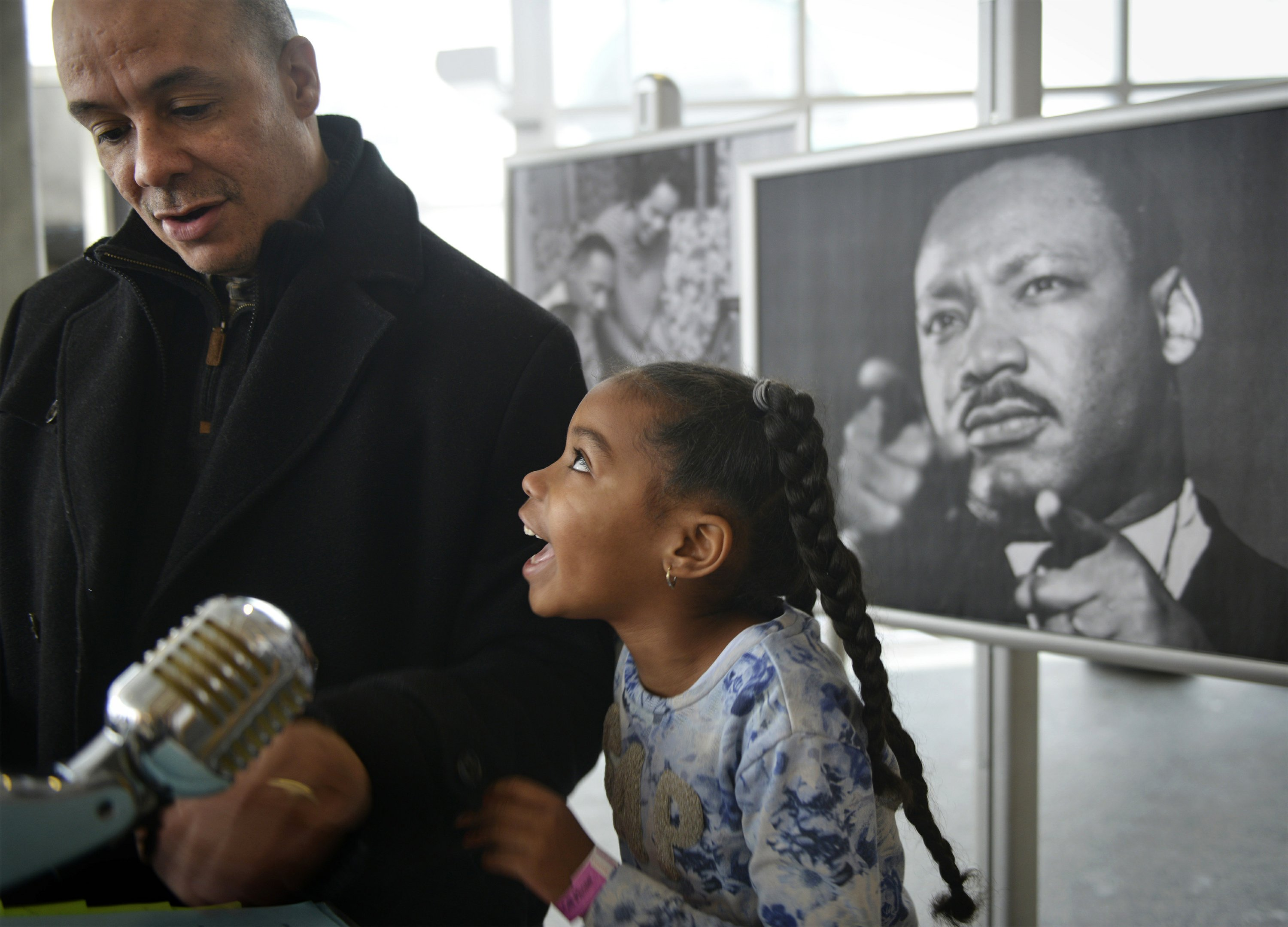 AP PHOTOS: A selection of pictures from MLK holiday