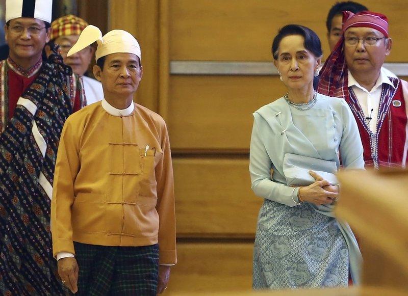 Win Myint, Aung San Suu Kyi
